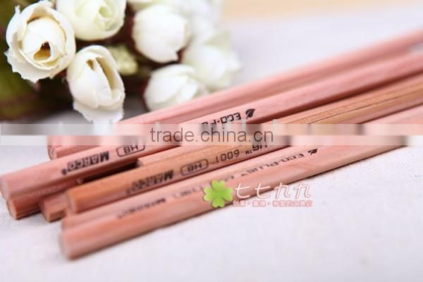 Japanese and Korean non-toxic raw wood pencils