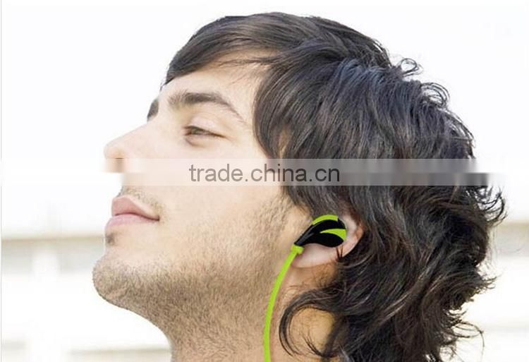 2015 anti-sweat wholesale universal wireless sport bluetooth headset