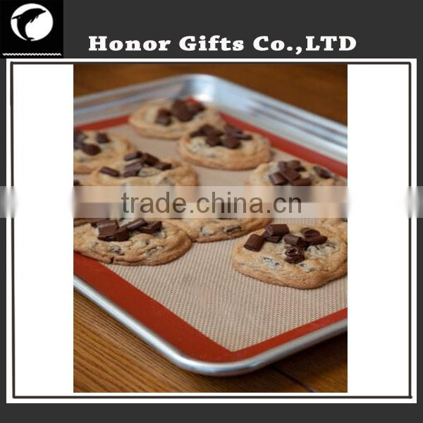 Hot Selling FDA Reusable High Quality Non Stick Silicone Baking Mat