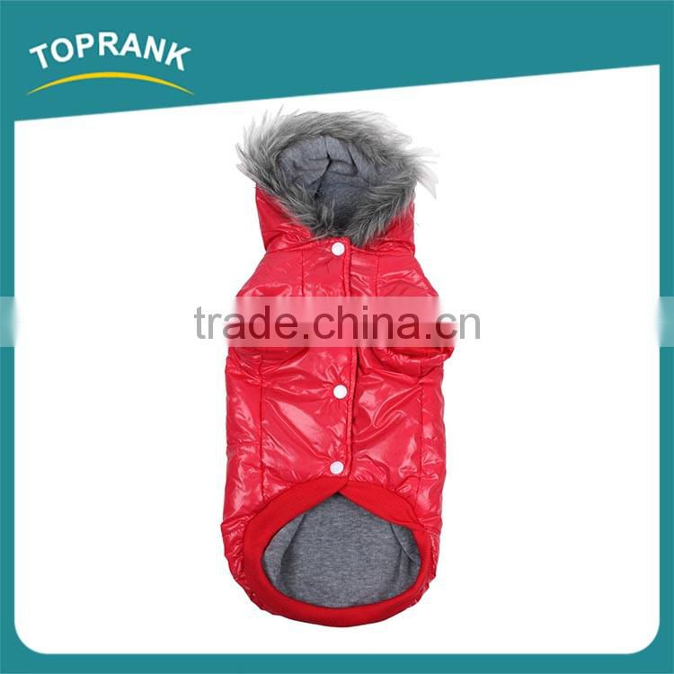 New design dog jacket coat fur waterproof winter dog clothes