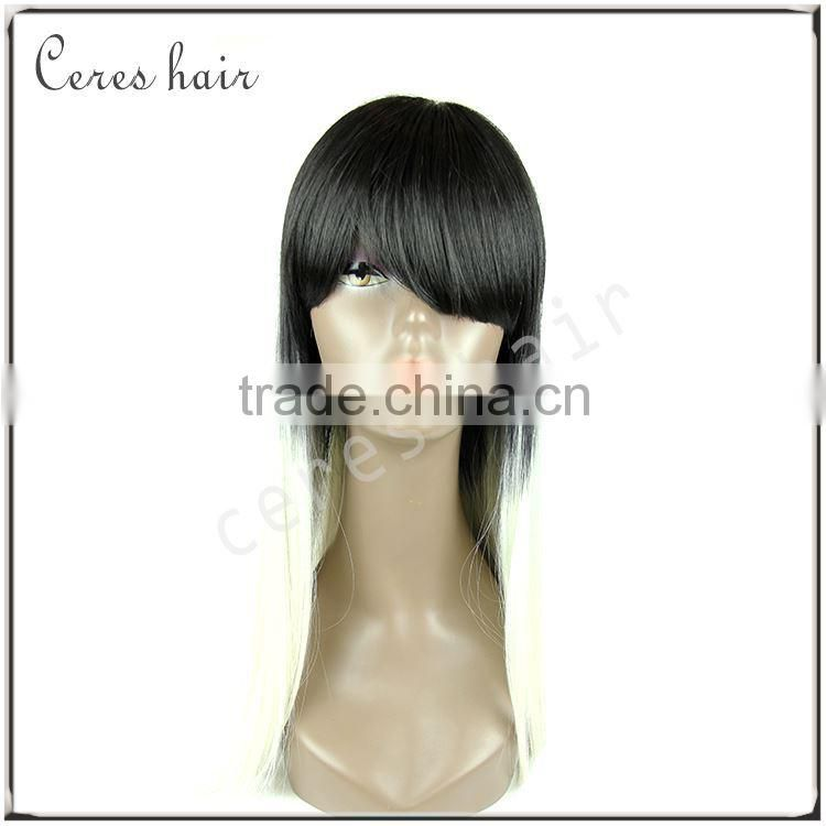 high temperature futra fiber machine made wig china cabelo humano,ce perucas