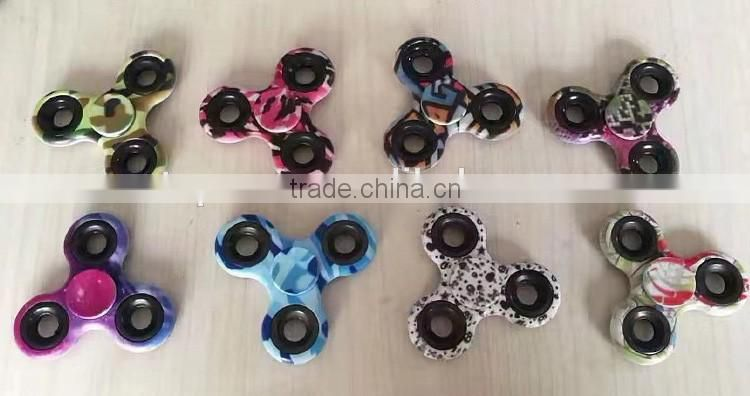 New product for 2017 custom camouflage fidget spinner hand spinner