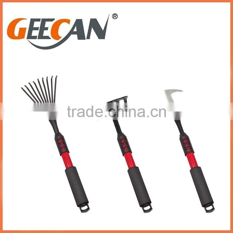 Made in China cheap wholesale pretty child garden tool set with metal head