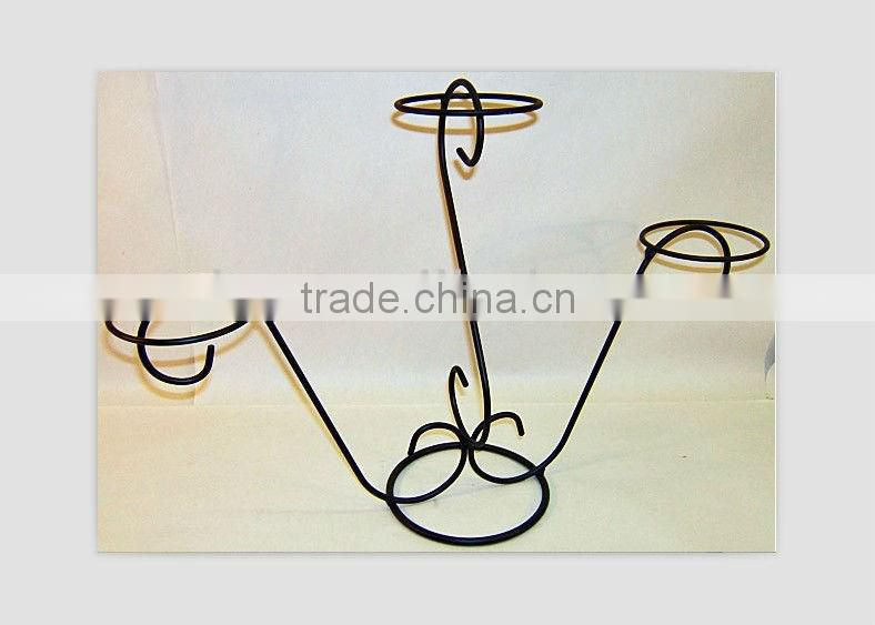 Metal cap Hat rack for Retail stores