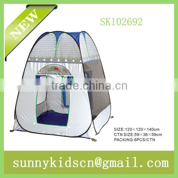 pop up children tent toys with 4 surface