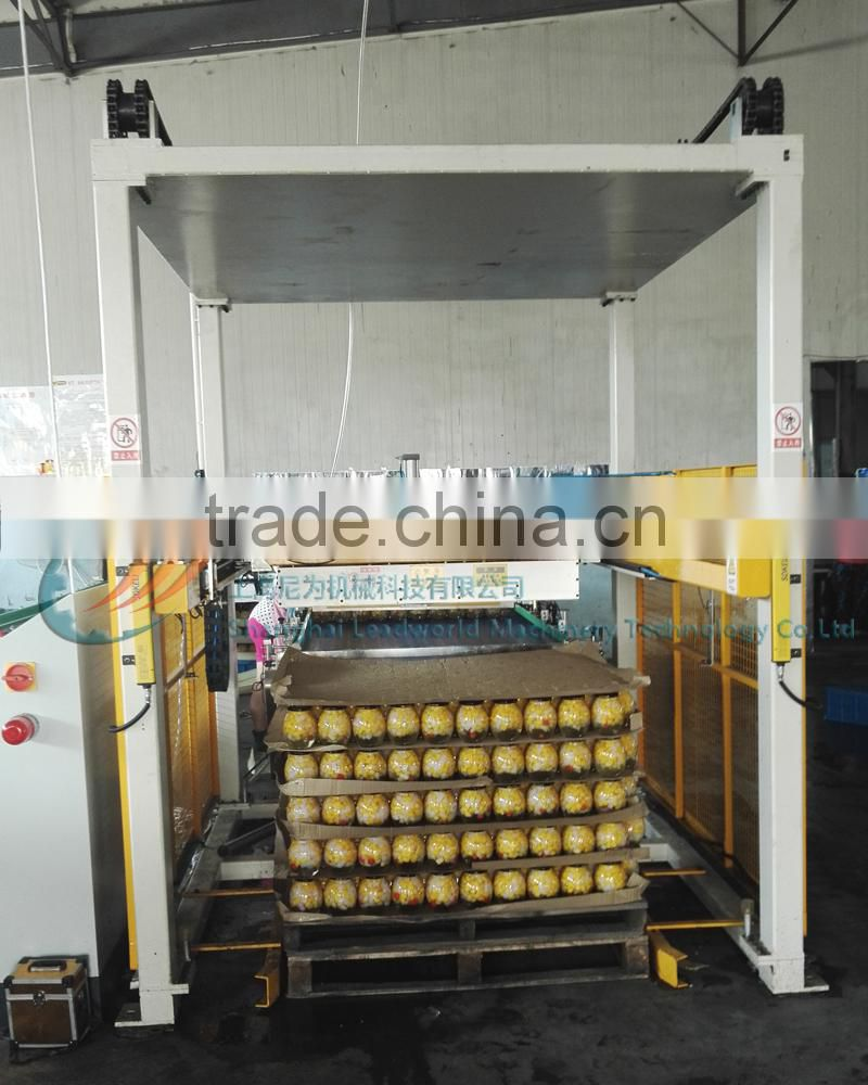 Food And Beverage Plastic Box Cases Palletizer