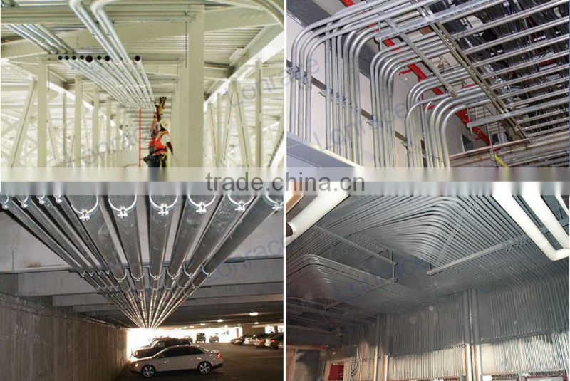 China Supplier High Quality Pre Galvanized Steel Pipes
