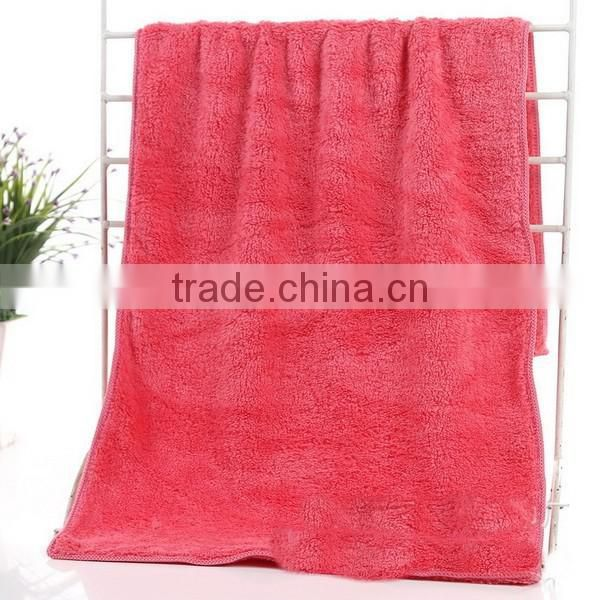 Sherpa coral fleece fabirc 100% polyester Knitting coral velvet fabric for garment