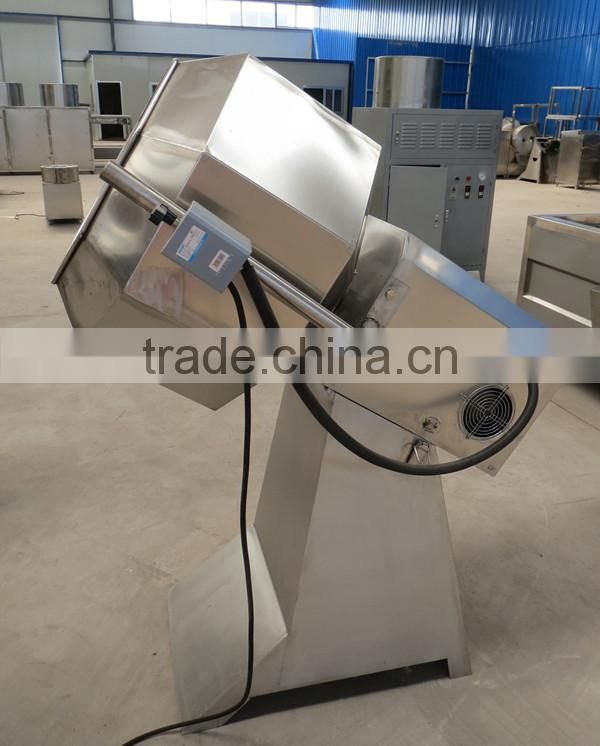 Eight Angles Potato Chips Fries Peanut Flavoring Machine Seasoning Machine