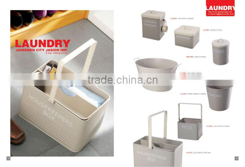 Medium Oval Galvanized Metal Steel Tub Bucket Pail Bin Storage Container Cold Drink bucket