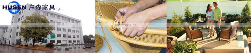 outdoor rattan furniture sun lounger with tea table