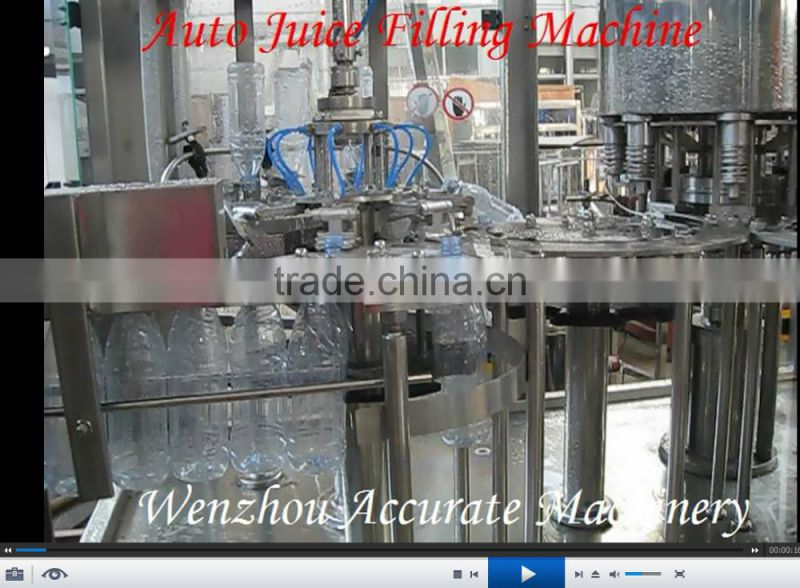 Small PET Bottled Fruit Juice Filling Machine and bottling juice filling machinery production line