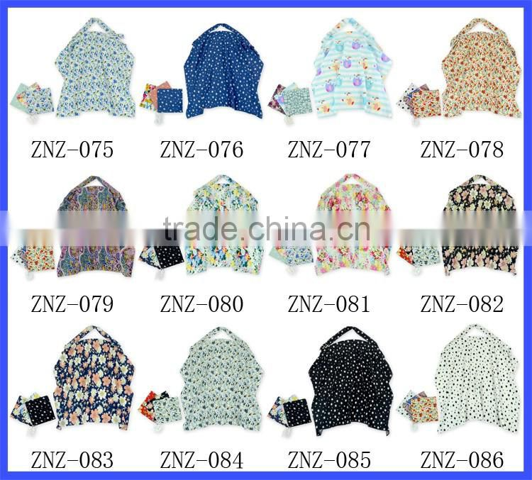 High Quality 100% Cotton Nursing Cover Nursing Cover For Breastfeeding Breast Nursing Cover