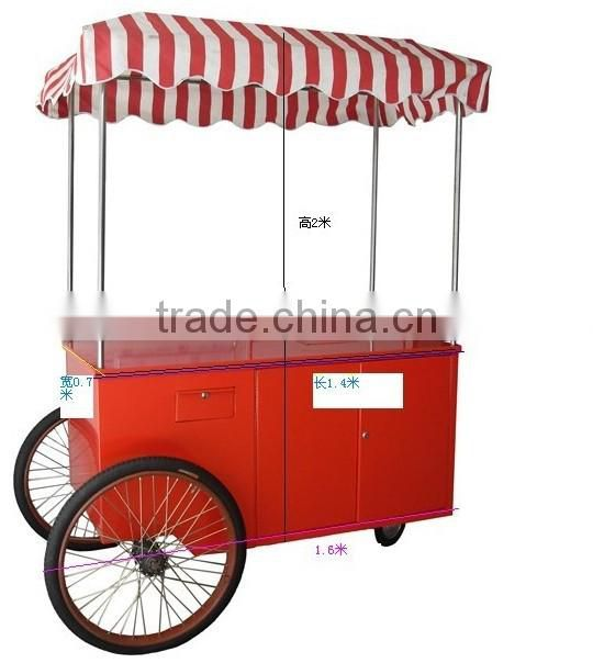 ice cream service multipurpose woking service cart