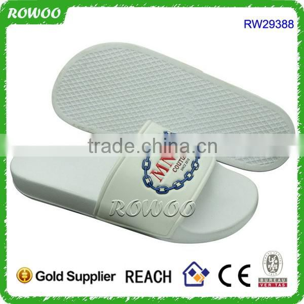 Washable White Cheap Hotel Flip Flops Slippers For Guests