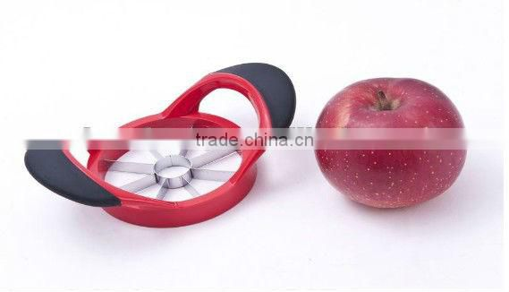 stainless steel fashion design apple tools/apple cutter/apple slicer