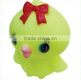 chick plastic doll baby toy, make plastic chick soft toy for kids, Custom lovely plastic toy