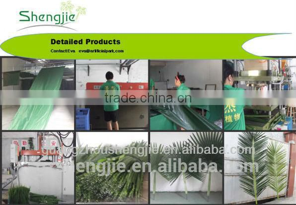 fake plastic plant green palm and banana trees suppliers
