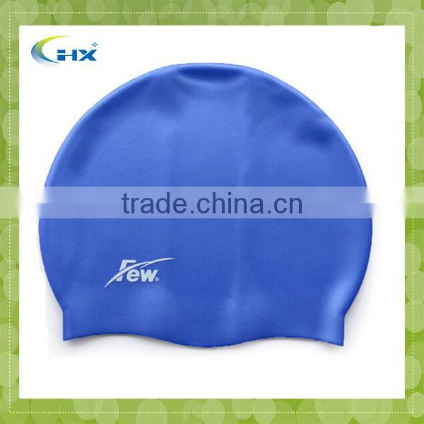 G-2014 water-resistant Profession logo print silicone waterproof lovely funny ear protection shark make a swim cap
