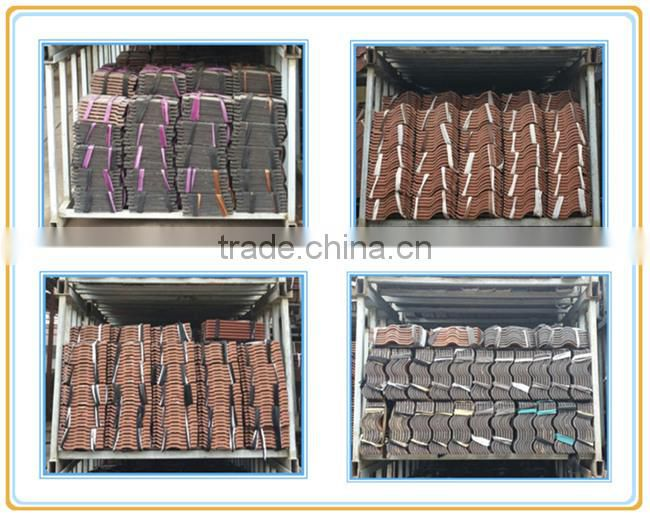 ceramic/clay/terracotta/pottery Bent Tile price with all colors