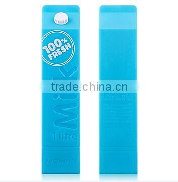 Universal milk style gift power bank 2600mah mini usb power charger