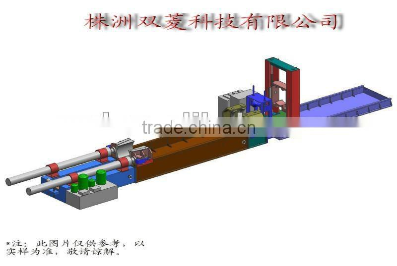 Pipe bender for large radius and thick wall pipes /NC control
