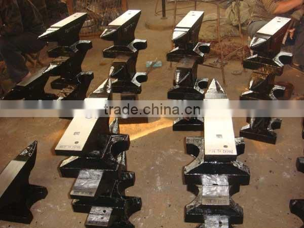 150kg High quality casting steel anvil