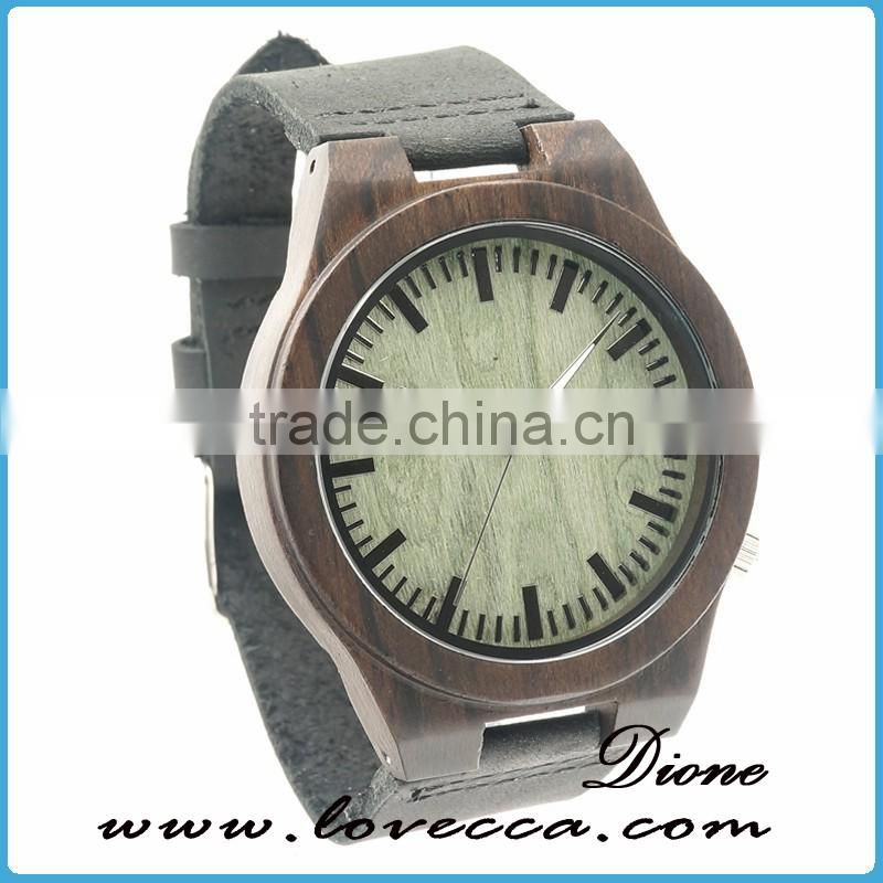 Private label watch handmade customized classic oem wood watch