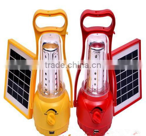 rechargeable solar powered Camping lamp