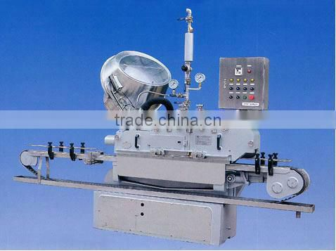 Full Automatic Canned Food Production Line ( Filling Sealling and Labeling Line)