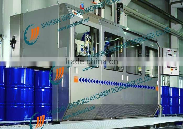 automatic lubricants weighing filling machine