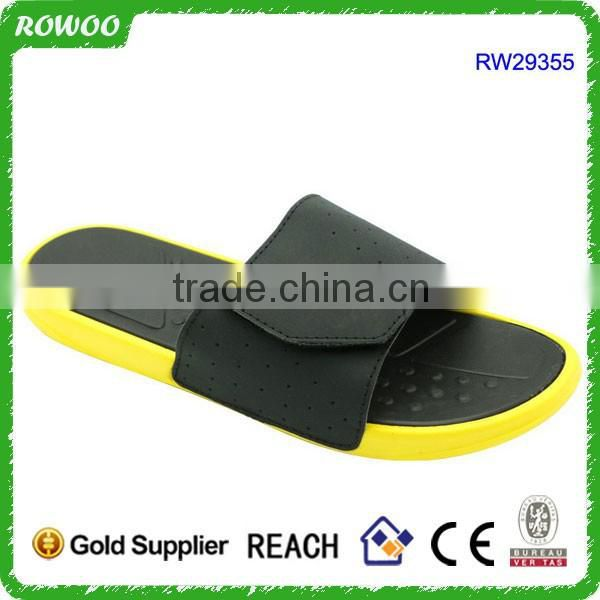 Black Popular Slippers For Men Cheap Indoor Flip Flops