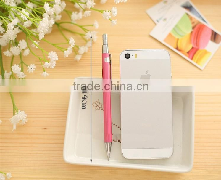 Fashionable metal mechanical pencil , color free mechanical pencil samples