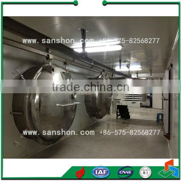 Sanshon FDG Quick Freeze Drying for Vegetable Industrial Product