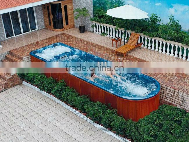 Luxury whirlpool swimming pool hottub for 2 person WS-S08M