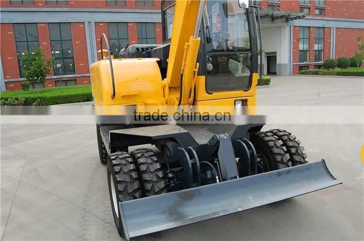Wheel type 7ton hydraulic wheel Excavator WYL70