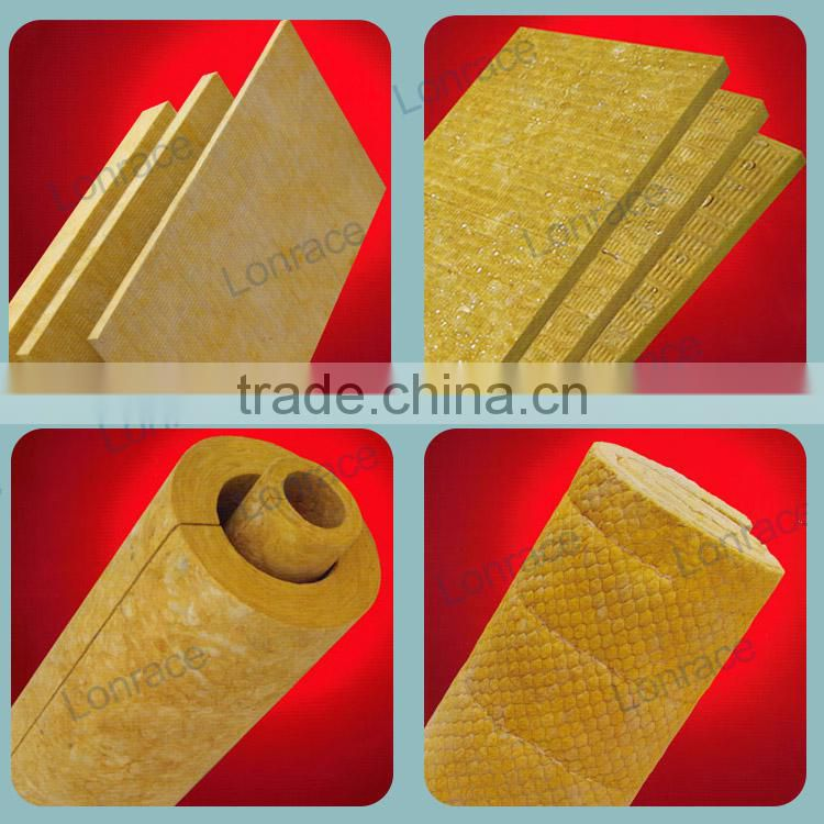 Professional Manufacturer Heat Insulation Rockwool Cover Steel Steam Pipe Insulation