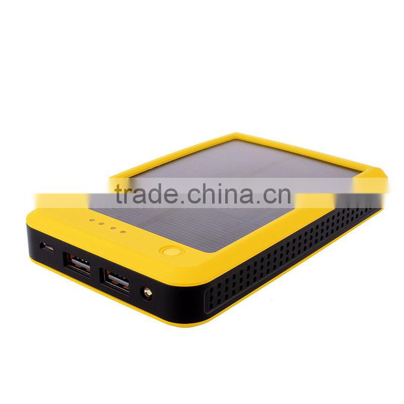 Supply cheap power bank 10000mah solar charger made in China