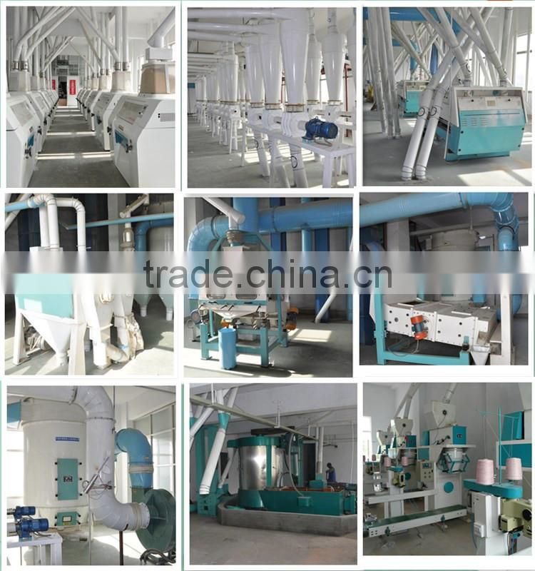 Manufacturer of H-efficiency automatic pneumatic wheat flour mills