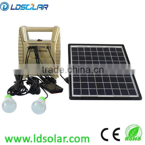 easy using solar lighting LED for indoor use portable and easy using