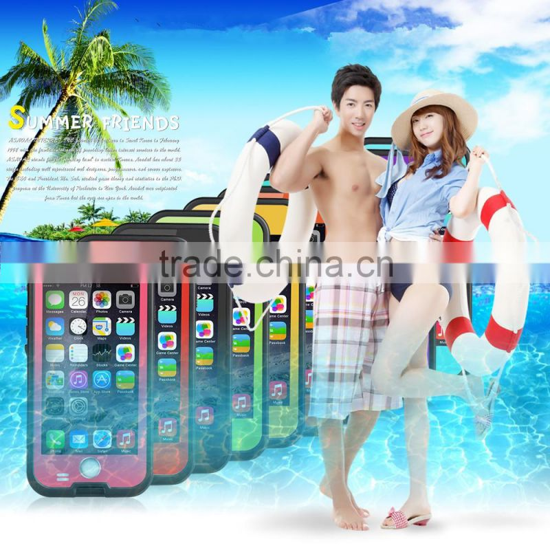 Metal shockproof waterproof phone cover