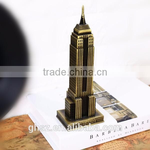 Wholesale custom resin famous buildings scale architectural models