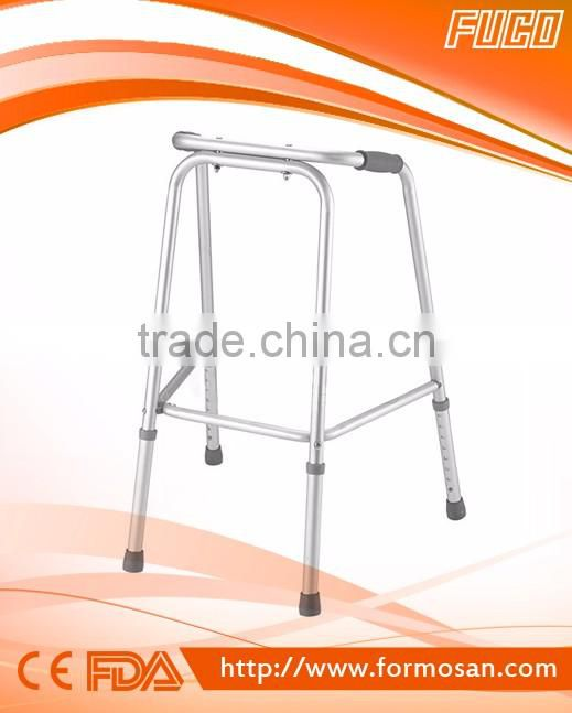 ALUMINUM FIXED RIGID NON FOLDING WALKER( FIXED walker,walking aid)