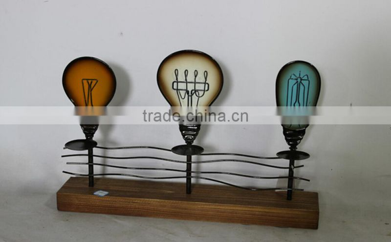 Lamp Special Vintage Iron Candle Holder