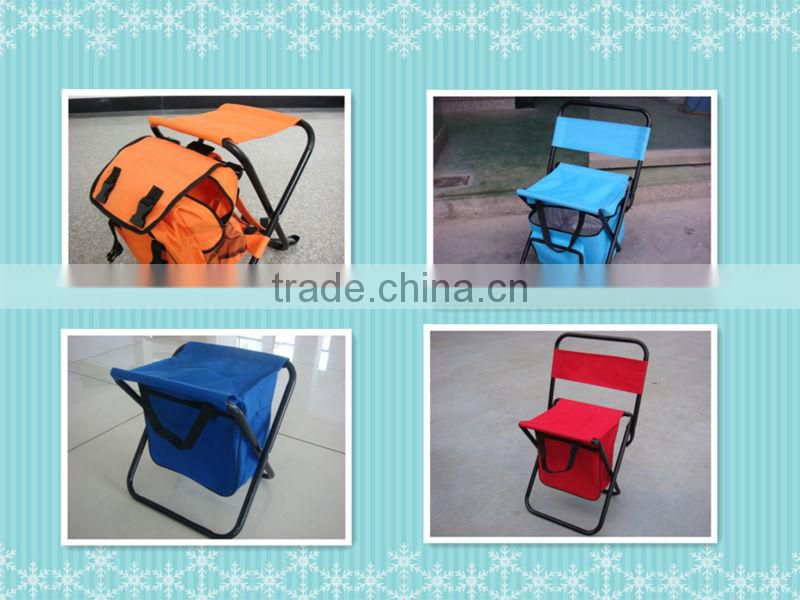Hiking folding backpack portable beach chair with bag