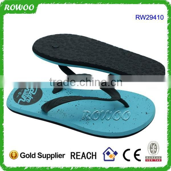 2017 New Collection Solid Color EVA Slipper fashion design Rubber Slipper