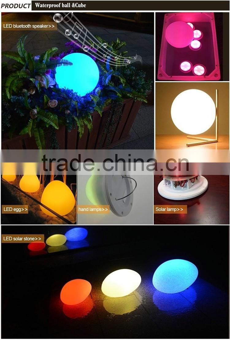 Glowing led table party LED cocktail table Illuminated Rechargeable