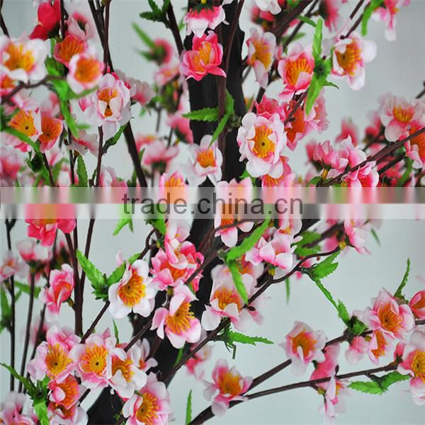 most popular table artificial mini cherry blossom tree fake cherry blossom tree