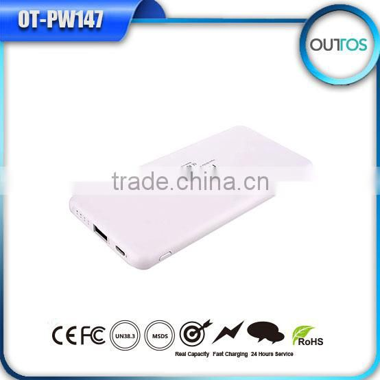 2A output portable power bank 10000 for mobile phone