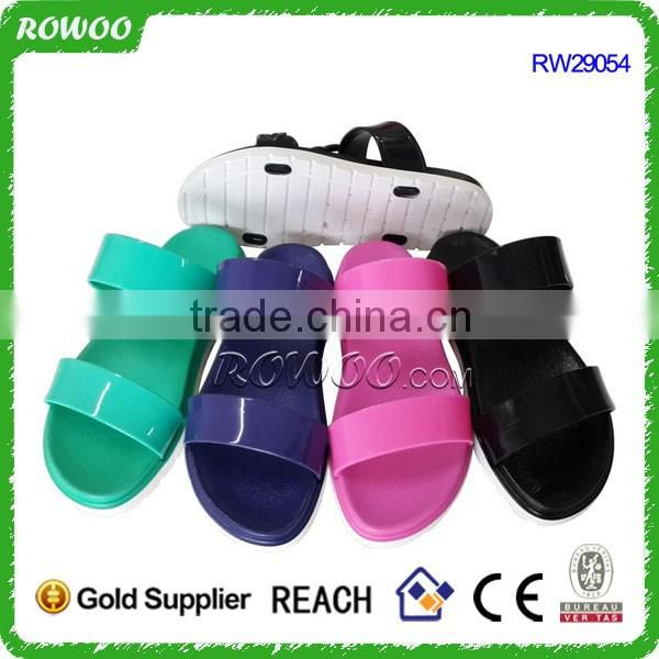 Latest model Customized new style hot lady flip flop beach